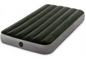 INTEX DURA-BEAM DOWNY AIRBED WITH FOOT BIP nafukovací postel 76x191x25 cm 64760