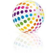 INTEX Nafukovací míč Jumbo 107cm 59065 barevné puntíky
