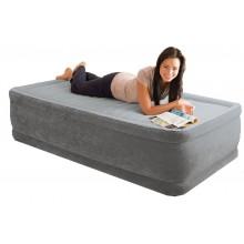 INTEX COMFRORT-PLUSH Twin zvýšená nafukovací postel, 64412