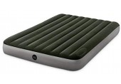INTEX QUEEN DURA-BEAM DOWNY AIRBED WITH FOOT BIP nafukovací postel 152x203cm 64763