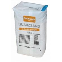 Steinbach Filtrační písek, zrnitost 0,7 - 1,2 mm, 25 kg 040025