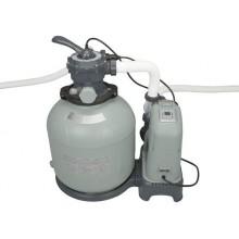 INTEX Krystal Clear Písková filtrace 10 m3 & systém slané vody 28680