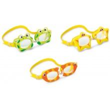 INTEX FUN GOGGLES Dětské brýle do vody, žluté 55603