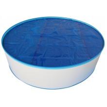 Solární plachta modrá kruh 6,00 m 036135