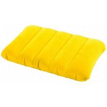 INTEX Dětský polštářek 43 x 28 x 9 cm, žlutý 68676