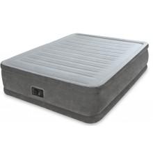 VÝPRODEJ INTEX COMFRORT-PLUSH QUEEN Zvýšená nafukovací postel 152 x 203 cm 64414 POŠKOZENÝ OBAL