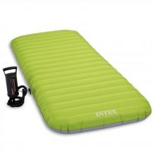 INTEX Rolovací nafukovací postel s pumpou, 76 x 191 x 13 cm, 64780