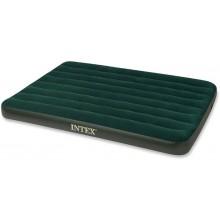INTEX Full Prestige Downy nafukovací postel s pumpou, 137 x 191 x 22 cm, 66968