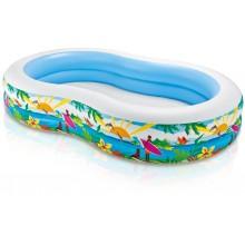 INTEX Bazén rajská laguna 262x160x46 cm 56490