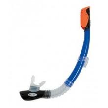INTEX HYPER-FLOW Potápěčský šnorchl, modrý 55924