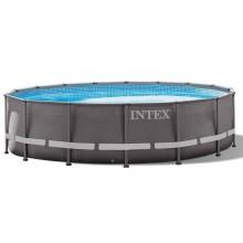 INTEX Bazén Ultra Frame pools rámový bazén 6.1m x 1.22m, s filtrací 26334GN