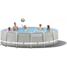INTEX PRISM FRAME POOLS SET 4,27 M X 1,07 M S Kartušovou filtrací 26720GN