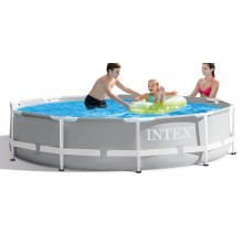 INTEX Bazén Prism Frame Pools 3.66m x 0.76m, s filtrací 26712GN