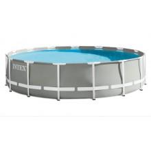 INTEX Bazén Prism Frame Pools 4,57m X 1,07m S Kartušovou filtrací 26724GN