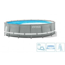 INTEX Bazén Prism Frame Pools 5.49m x 1.22m, s filtrací 26732NP