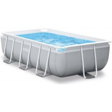 INTEX Bazén Prism Frame Rectangular Pools 4m x 2m x 1m, s filtrací 26788GN