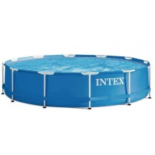 INTEX Bazén Metal Frame Pools 4,57m x 0,84m, s filtrací 28240NP