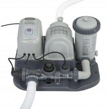 INTEX Krystal clear kartušová filtrace se systémem slané vody 28674