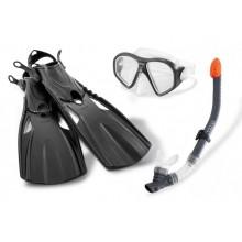 INTEX Plavecká sada (ploutve,šnorchl,brýle) 55657/E