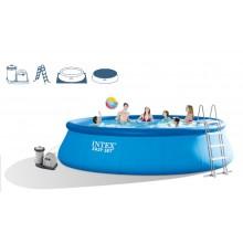 INTEX Bazén Easy Set Pool 549 x 122 cm s kartušovou filtrací, 28176GN