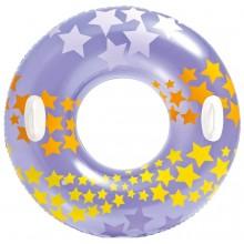 INTEX Nafukovací kruh do vody fialový, 59256NP