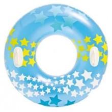 INTEX Nafukovací kruh do vody modrý, 59256NP