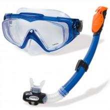 INTEX AQUA SPORT Potápěčský set: maska a šnorchl, modrý 55962
