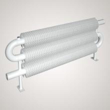 ISAN SPIRAL RAO3 radiátor na zem kov (RAL 9006) 500/57x2,5x137 ZRAO357137050F20