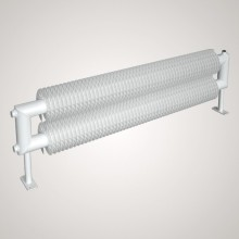 ISAN SPIRAL RAT2 radiátor na zem sněhově bílá (RAL 9016) 500/32x2,0x92 ZRAT232092050F01