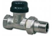 """IVAR termostatický ventil VD 2101N 1/2"""" přímý dvouregulační s přednastavením 500459"""