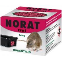 AgroBio NORAT zrní nástraha, 140 g 008063