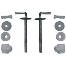 Jika Ocelové úchyty k duroplast. WC sedátku Lyra plus (závěsné WC) H8943830000001