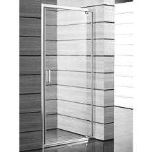 Jika LYRA PLUS Jednokřídlé sprchové dveře, 90cm, stripy sklo 2.5438.2.000.665.1