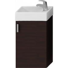 Jika PETIT Skříňka s umývátkem 40x23,5 cm, otvor vpravo, tmavý dub H4535111753021