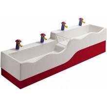 KERAMAG 4Bambini boční vysoký kryt.bar.,levý-červená 430080227