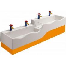 KERAMAG 4Bambini boční vysoký kryt.bar.,levý-oranžová 430080301