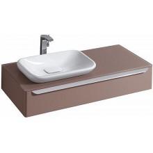 KERAMAG DESIGN myDay skříňka pod umyv. 115x41cm,otv.vl.lesklá šedá,vč.LED 824261000