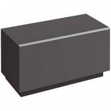 KERAMAG Icon boč.skř.níz.89x47,2 lávově černá matná 841091000