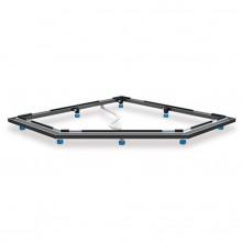 Kaldewei FR 5300-15 instalační rám pro vaničky CORNEZZA do rozměru 100x100 cm 530000150000