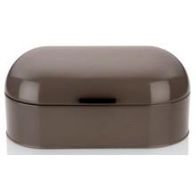 KELA Chlebník FRISCO kovový, tmavě šedý 44x21,5x22cm KL-11169