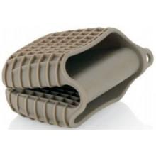 KELA Silikonová chňapka CALDO tm.šedá, 11x8x4,5cm KL-11280