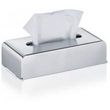 KELA Kosmetický box na kapesníky FABER nerez KL-22860