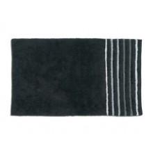 KELA koupelnová předložka 100x60cm LADESSA STRIPES černá KL-22113