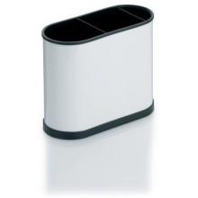 KELA Příborník BENITO bílý 22x10x18cm KL-11659