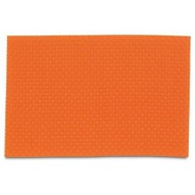 KELA Prostírání PLATO, polyvinyl, oranžové 45x30cm KL-11367