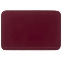 KELA Prostírání UNI tmavě červené, PVC 43,5x28,5 cm KL-15014