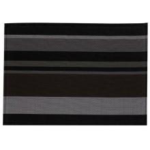 KELA Prostírání NETA, PVC, černé pruhy 45x30cm KL-15621