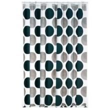 KELA sprchový závěs 180x200cm LAMARA šedý KL-22094
