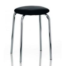 KELA Židle SIMEON, sedák polstrovaný černý KL-18797