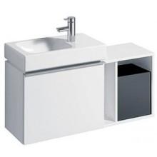 KERAMAG Icon XS postranní prvek, závěsný 37 x 40 x 27,3 cm bílá lesklá 840237000